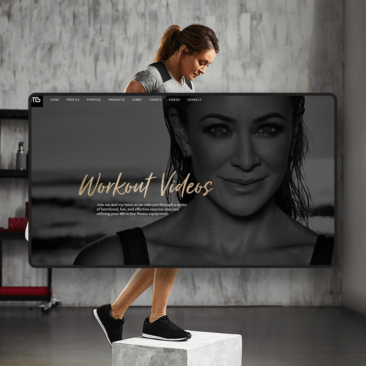 Michelle Bridges mockup 1