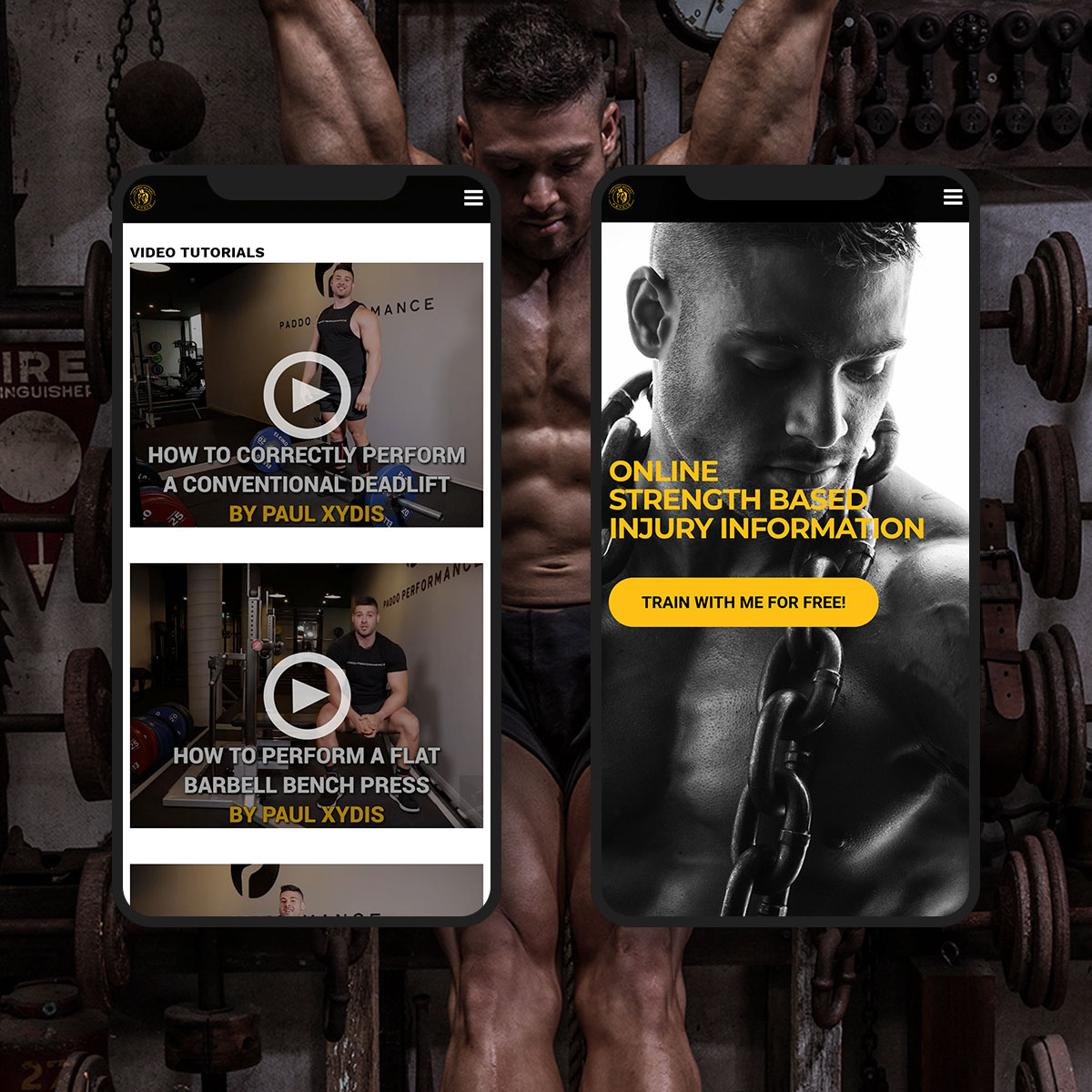 The Body Building Physio mockup 02